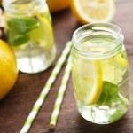 Постер, плакат: Fresh lemonades with lemons