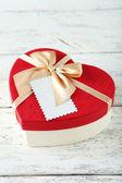 Beautiful heart gift boxes — Stock Photo
