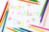 Happy mothers day card — Foto de Stock