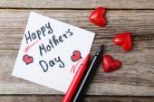 Mutlu anneler günü kartı — Stok fotoğraf