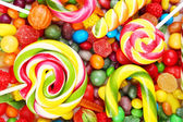 Different fruit candies — Stock Photo