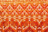 Thai style texture fabric — Foto de Stock