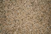 Exposed aggregate finish on the floor  — 图库照片
