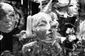 Carnival masks on sale — Stock Photo
