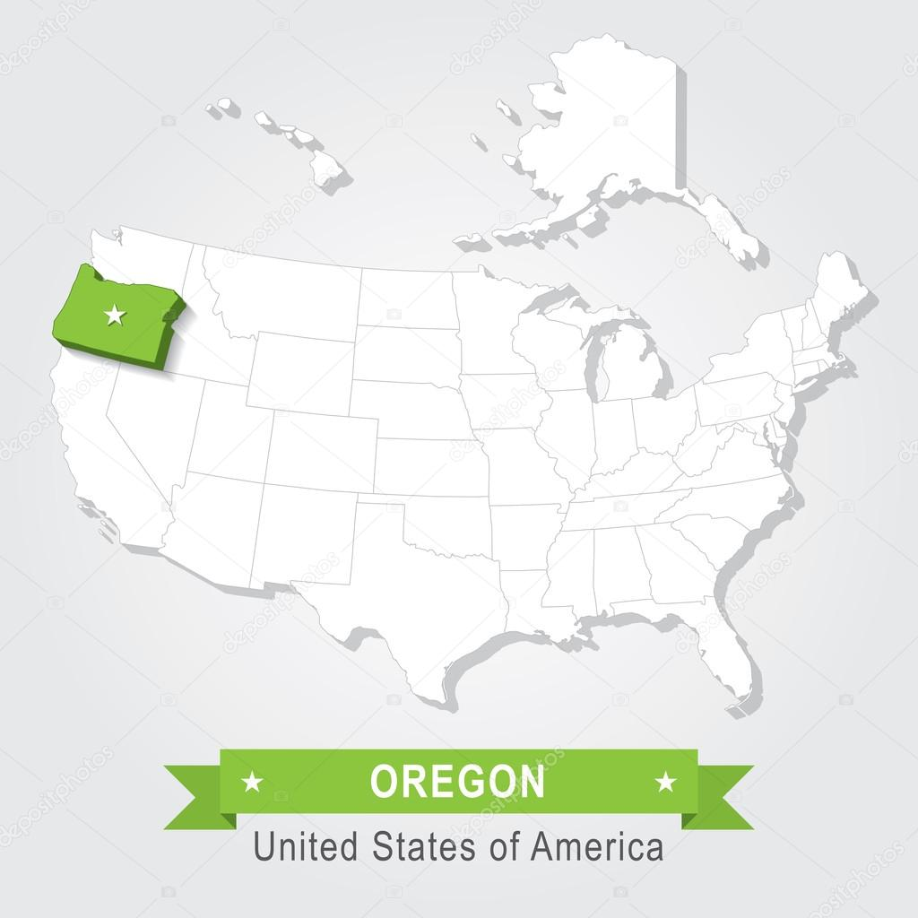 Large Detailed Map Of Oregon State Oregon State USA Maps Of - Oregon in usa map