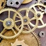 Vintage clock mechanism — Stock Photo #63298371