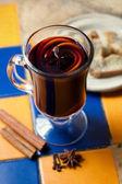 Kupası mulled şarap — Stok fotoğraf