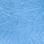 Frozen pattern on window — Stockfoto