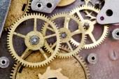 Mechanizm zegara vintage — Zdjęcie stockowe