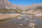 Majestic mountain lake in Tajikistan — Photo