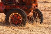 Rusty Tractor — Stock Photo
