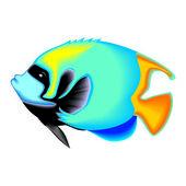 Akvaryum balık — Stok Vektör