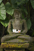 Estatua de buda sentado — Foto de Stock