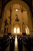 Onbezet kerk in Riga — Stockfoto