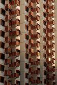 Massor av balkonger — Stockfoto