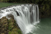 Water flowing at a waterfall in Taiwan — Stockfoto
