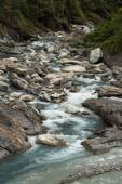 Rocky river at the Taroko National Park in Taiwan — ストック写真