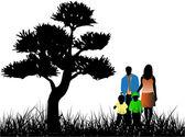 Familie — Wektor stockowy