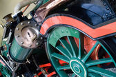 Train steam engine — Stock Photo