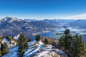 Zwoelferhorn Mountain, Austria — Stock Photo