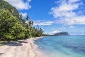 Prachtige landschap van tropisch strand — Stockfoto