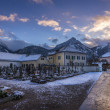 Winter in Austrian Village — Stock Photo #70053463