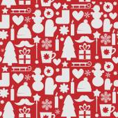 Vector Christmas pattern — Stock Vector