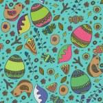 Vector Easter seamless pattern — Stock Vector #63234179