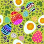 Vector Easter seamless pattern — Stock Vector #63859473