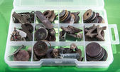 Archeolog box — Stock fotografie