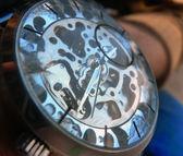 Clockwork mechanism — Stock Photo