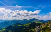 Ciucas Mountain — Stock Photo