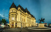 Bucharest -- University Library — Stock Photo