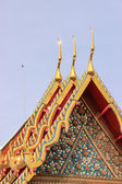 Wat Pho lub Wat Phra Chetupon Vimolmangklararm, Bangkok, Tajlandia — Zdjęcie stockowe