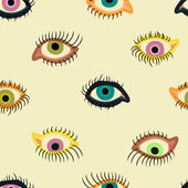 Augen-Muster — Stockvektor