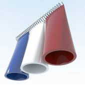 3D objects with France flag colors — Stock Photo