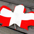 Lef color flag Switzerland — Stockfoto #69468527