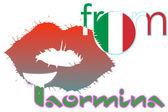Beijo de Taormina — Fotografia Stock