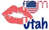 Beso de Utah — Foto de Stock