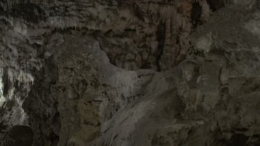 Interior Of Magnificent Karst Cave — Stock Video