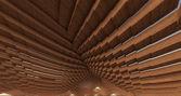 Wood Pixelated — Stockfoto