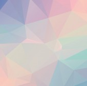 Pastel Polygon Geometric — Стоковое фото