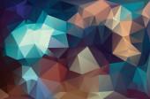 Abstracte geometrische veelhoek patroon — Stockfoto