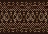 絹の布ブラウン パターン — ストックベクタ