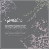 Wedding day invitation — Stock Vector