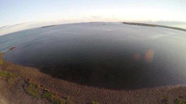 Panoramic New England beauty shot — Video Stock