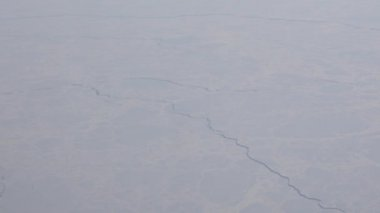 Cracked Arctic ice sheets — Stock Video