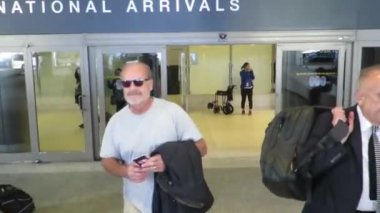 Kelsey Grammer at LAX — Stock Video