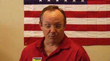 Louisiana Republican Senate candidate — Stock Video