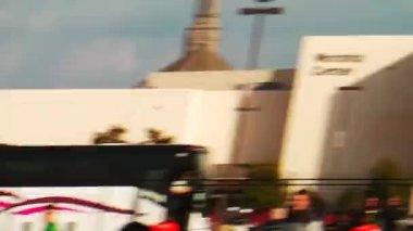 サッカーの練習でマイアミ ハリケーン — ストックビデオ